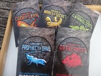 """Set of """"Greogor the Overlander"""" books by Suzanne Collins"""