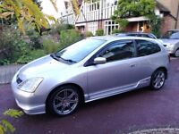 Honda Civic Type R EP3 83000 miles (with sub)