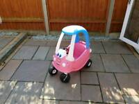 Little Tikes Pink Coupe