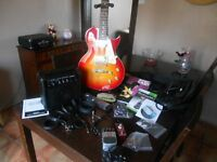 electric guitar full set up