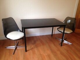 Retro 1970 style Table & Chairs - only £45
