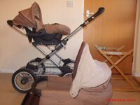 Silver cross sleepover travel system with all accessories plus extras included