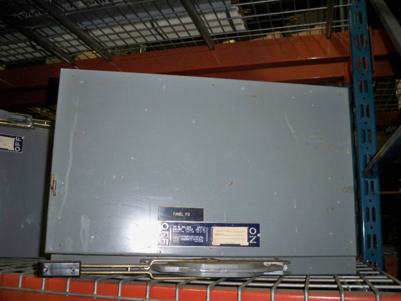 Sq D Qmb325w 400a 240v Fusible Panelboard Switch