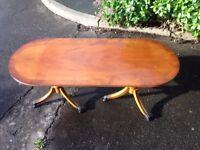Bevan Funnell Ltd. Vintage Wooden Coffee/Side Table