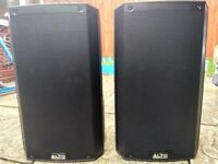Alto TS212 Active 1100watt 12 inch Speakers (pair) With Bags Excellent Working Condition