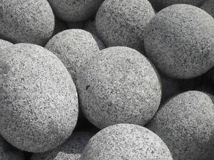 Gletscherkiesel 20 - 30 cm Kies Gartenkies Kieselsteine Flußkiesel Granit