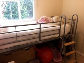 Mid sleeper single bed for sale - £30