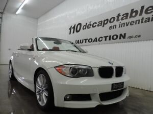 2012 BMW 1 Series 128i M-PACKAGE - DÉCAPOTABLE - CUIR ROUGE - SI