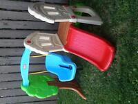 Little tykes play & slide