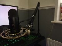 Gaming mic set up