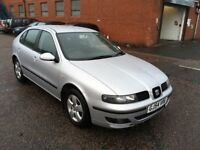 Seat Leon Good Runner with history and mot