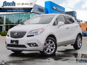 2016 Buick Encore Leather AWD|LEATHER|SUNROOF|NAV|BACK UP CAM