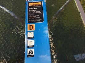 Halfords Roof Bar System