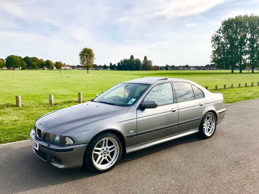bmw e39 540i sport 2003 sterling grey immaculate in. Black Bedroom Furniture Sets. Home Design Ideas
