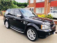 Land Rover Range Rover Sport 3.6 TD V8 HSE 5dr£9,999 low mileage - 3.6 V8 CAT D 2009 (09 reg), SUV