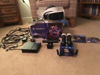 PlayStation VR Headset, Camera, Move Controllers + GT VR Game