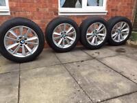 "4 17"" used Genuine BMW 5 series alloy wheel"
