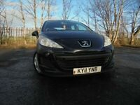 2011 PEUGEOT 207 S HDI 1.4 DIESEL,5 DOOR HATCHBACK,MOT JAN 022,2 OWNERS,PART-HISTORY,LOVELY EXAMPLE