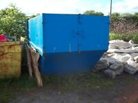 Enclosed Lockable Skip For Sale