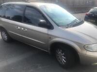 2003 03reg Chrysler Voyager 2.5 Petrol Manual 7 Seater