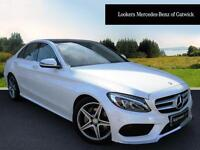 Mercedes-Benz C Class C220 D AMG LINE PREMIUM PLUS (white) 2015-12-03