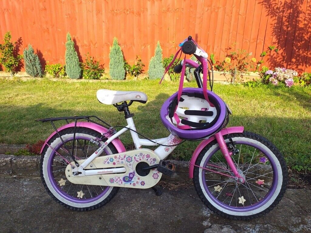 KIDS GIRLS CHILDREN BIKE STAR 16 INCH WHEELS BIKE BICYCLE | in Heathrow,  London | Gumtree