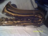 TENOR SAXOPHONE , the INVICTA by PAUL CAVOIR , a VINTAGE WORKHORSE from YESTERYEAR ???