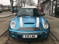 Mini Cooper S-2004-Panoramic sunroof-Low Mileage-Long MOT-Great Condition