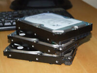 """Desktop 3.5"""" SATA HDDs 80Gb 320Gb 500Gb 800Gb 1Tb MAXTOR SEAGATE WD"""