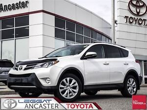2013 Toyota RAV4 Limited AWD WITH ONLY 52524 KMS!!!