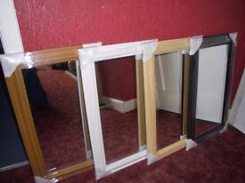 CLEARANCE SALE - Selection of new quality wall mirrors