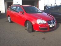 Free Delivery 06/12/2007 Vw Golf S 1.9l Tdi Estate 57k-Fsh-One Owner-New Timng Belt-Free Delivery