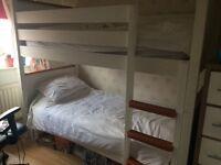 White bunk beds bargain price