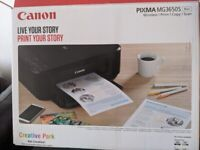 Canon PIXMA MG3650S printer ( Like New)- £50 ONO