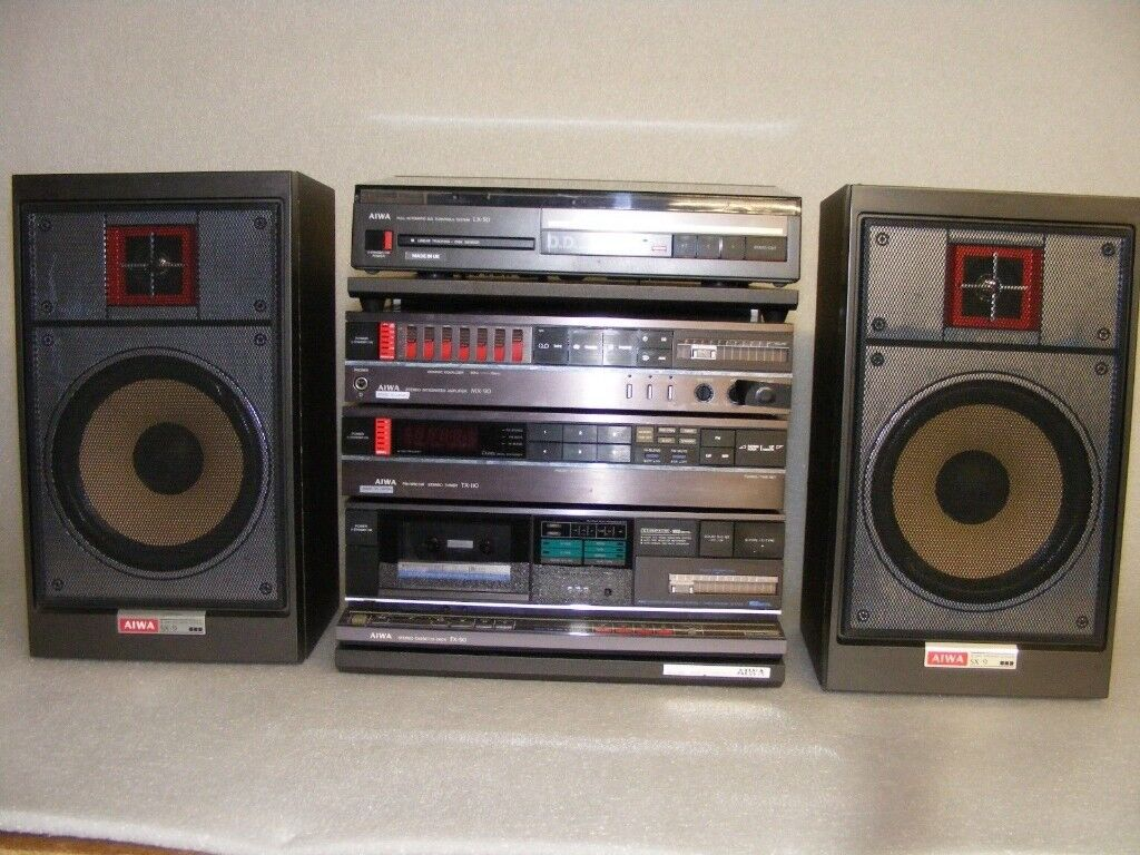 WANTED 80s AIWA VINTAGE HIFI STEREO SYSTEM