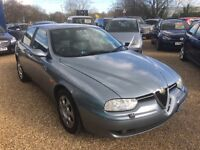2003 ALFA ROMEO 156 1.8 T-SPARK LUSSO GREY 4DR SALOON