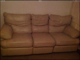 Reclining 3 seater sofa