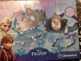 New! Frozen Precious Tiaras Set