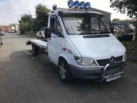 MERCEDES SPRINTER 311 CDI RECOVERY TRUCK !!! T&T