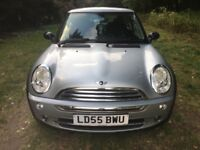 mini one 1.6 3dr hatch silver 2005 79k fsh mint condition