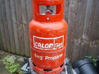 PROPANE M/T 6 kg Calor Gas red Bottle