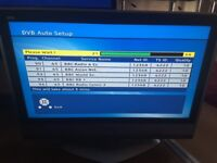 Older type panasonic lcd tv 32 inch works great with freeview and remote free local deliv