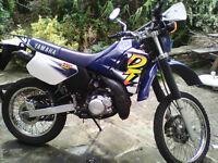1999 Yamaha DT 125 electric + kickstart (rare), good condition, £1,550