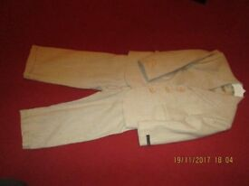 childs lining suit 3 - 4 year old