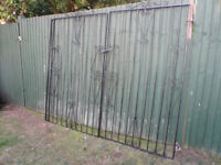 iron gate for front or garden entrance
