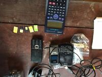 Mobiles, sim cards, calculator, blank cds and cables chargers etc
