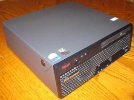 IBM Lenovo ThinkCentre M55 PC (USFF Type 8812) Core2Duo 2GB DDR 80GB HDD Windows XP Pro