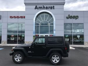2014 Jeep Wrangler SPORT 1 OWNER Hard Top, Manual