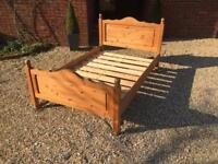 Pine bed 4ft