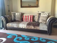 DFS Sofa, MADE chairs, John Lewis Dining table & Bench, mirror, TV stand, Kingsize bed,rack